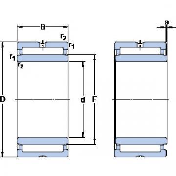 Cylindrical Bearing NKI 70/35 SKF