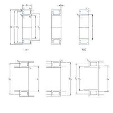 Cylindrical Bearing NJG2316VH SKF