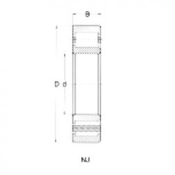 Cylindrical Bearing NJ409 CRAFT