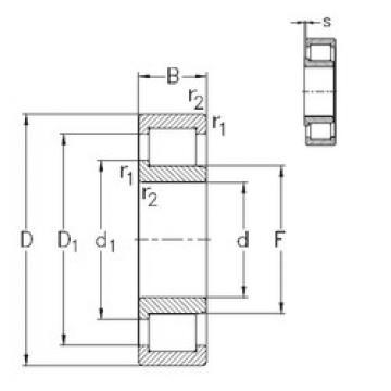 Cylindrical Bearing NJ2340-VH NKE