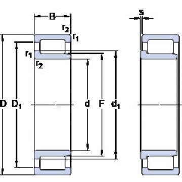 Cylindrical Bearing NJG 2307 VH SKF