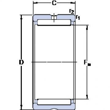 Cylindrical Bearing NK 16/16 SKF