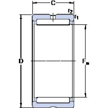 Cylindrical Bearing NK 43/20 SKF