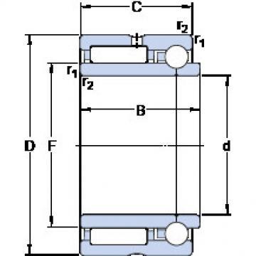 Cylindrical Bearing NKIB 5906 SKF