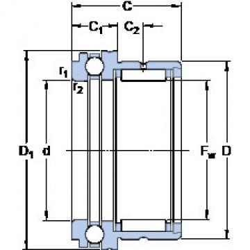 Cylindrical Bearing NKX 10 TN SKF