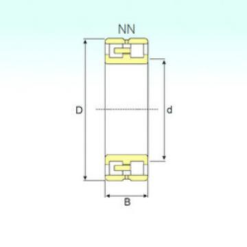 Cylindrical Bearing NN 3017 TN9/SP ISB