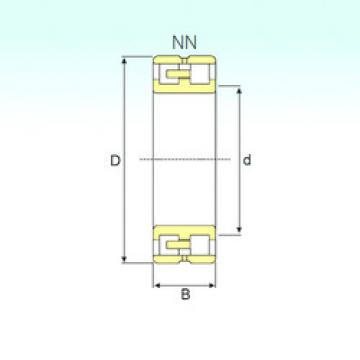 Cylindrical Bearing NN 3020 KTN9/SP ISB
