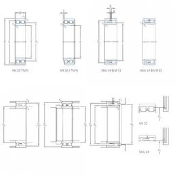 Cylindrical Bearing NN 3017 KTN9/SP SKF