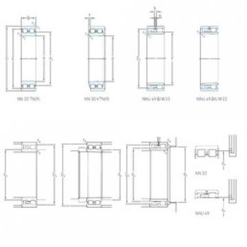 Cylindrical Bearing NN 3024 KTN9/SP SKF