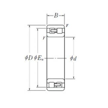 Cylindrical Bearing NN 3072 NSK