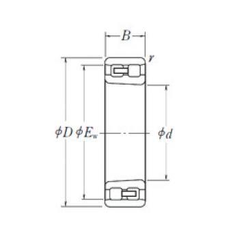 Cylindrical Bearing NN 3018 K NSK