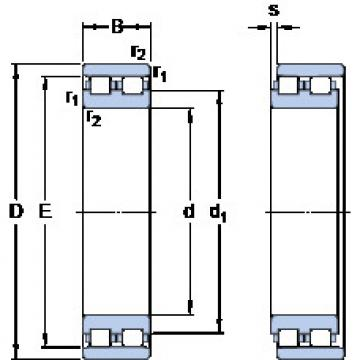 Cylindrical Bearing NN 3006 TN/SP SKF