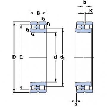 Cylindrical Bearing NN 3038 K/SPW33 SKF