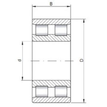 Cylindrical Bearing NN3014 ISO