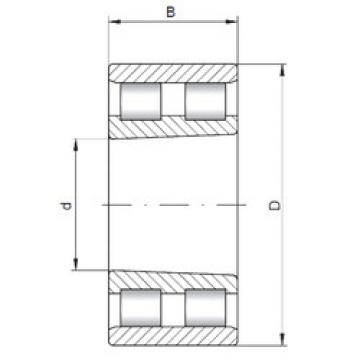 Cylindrical Bearing NN3016 K ISO