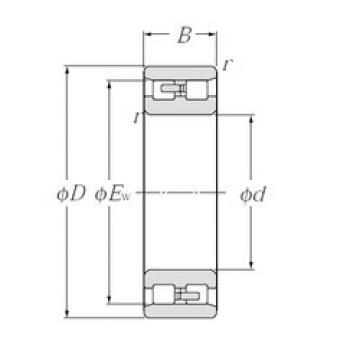 Cylindrical Bearing NN3017 NTN