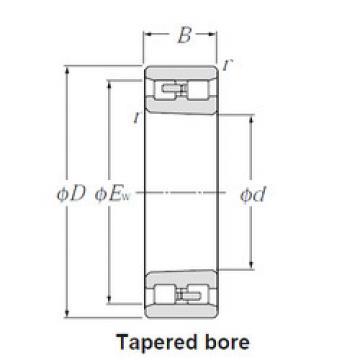 Cylindrical Bearing NN3017K/W33 CYSD