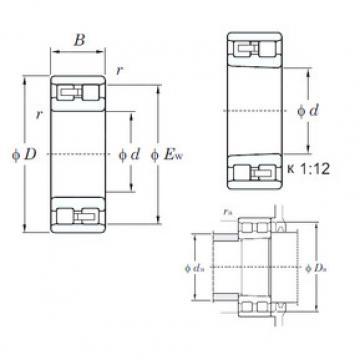 Cylindrical Bearing NN3016K KOYO