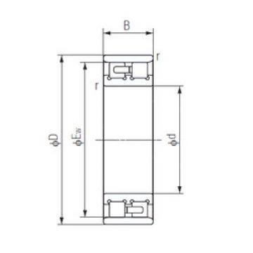 Cylindrical Bearing NN3008 NACHI