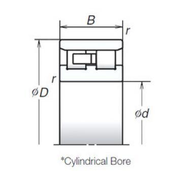 Cylindrical Bearing NN3014MB NSK