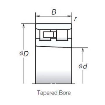 Cylindrical Bearing NN3017TBKR NSK