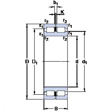 Cylindrical Bearing NNC 4860 CV SKF