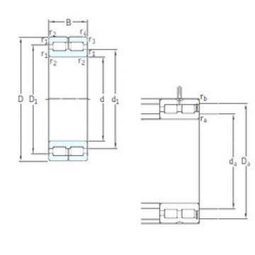 Cylindrical Bearing NNC4832CV SKF