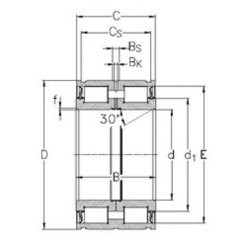 Cylindrical Bearing NNF5013-2LS-V NKE