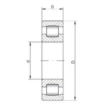 Spherical Roller Bearings 20314 ISO