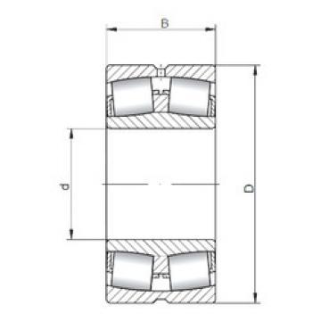 Spherical Roller Bearings 22228W33 ISO