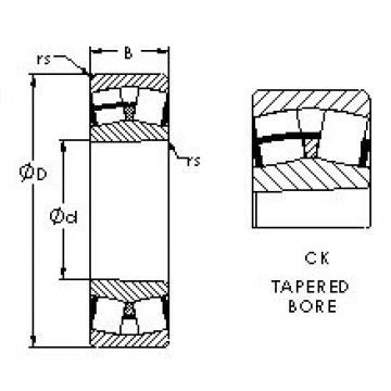 Spherical Roller Bearings 23032CK AST