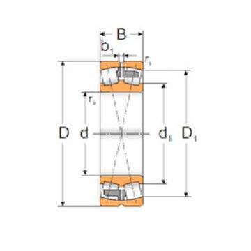 Spherical Roller Bearings 23034 MAW33 MPZ