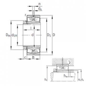 Spherical Roller Bearings 22240-B-K-MB FAG