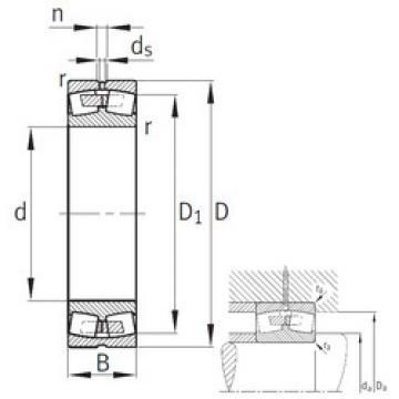 Spherical Roller Bearings 22244-B-MB FAG