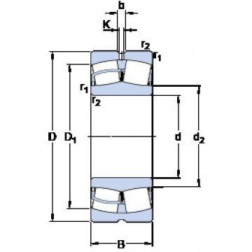 Spherical Roller Bearings 22324 CCJA/W33VA405 SKF