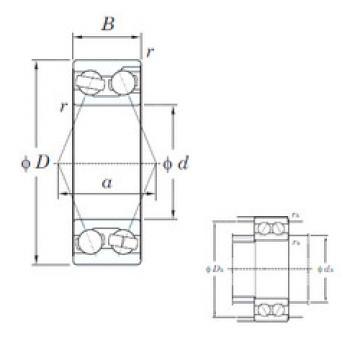 angular contact thrust bearings 3201 KOYO