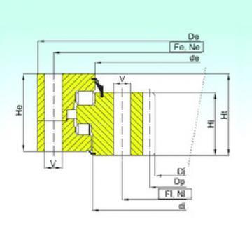 thrust ball images bearings ZR3.20.1800.400-1SPPN ISB