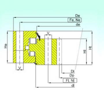 thrust ball images bearings ZR3.32.3550.400-1SPPN ISB
