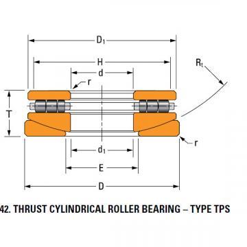 TPS thrust cylindrical roller bearing 120TPS153