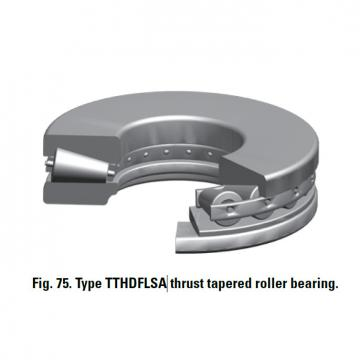 TTHDFLSA THRUST TAPERED ROLLER BEARINGS B–8424–C
