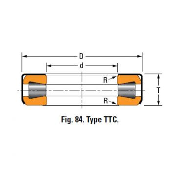 TYPES TTC, TTCS AND TTCL  TAPERED ROLLER BEARINGS T1260