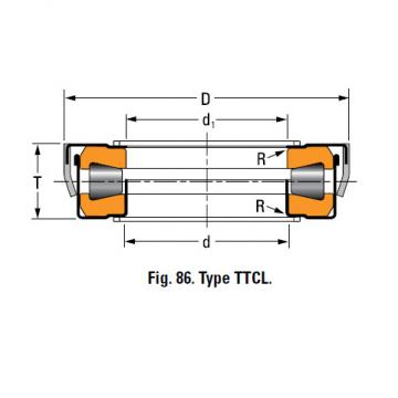 TYPES TTC, TTCS AND TTCL  TAPERED ROLLER BEARINGS T138