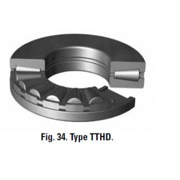 TTVS TTSP TTC TTCS TTCL  thrust BEARINGS B-8424-C 406.4