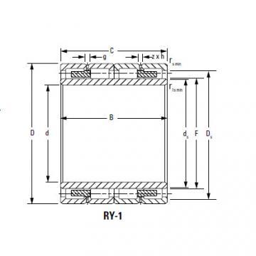 Four-Row Cylindrical Roller Bearings 300ARYS2002 354RYS2002