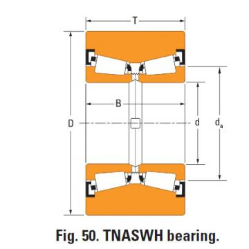 Tnaswh Two-row Tapered roller bearings na761sw k312486