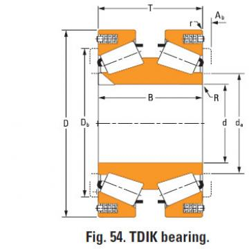 tdik thrust tapered roller bearings nP430670 nP786311