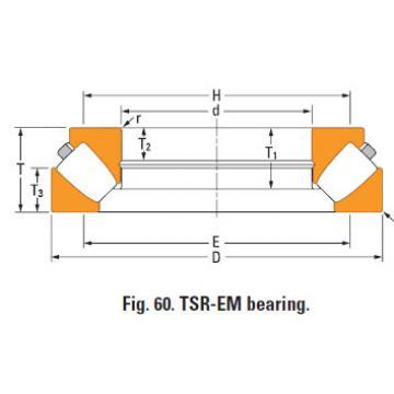 Thrust spherical roller bearing 29372em