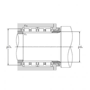 Four Row Cylindrical Roller Bearings NTN 4R17201