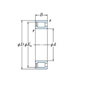 FULL-COMPLEMENT CYLINDRICAL ROLLER BEARINGS JAPAN RS-4932E4