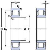 thrust ball bearing applications NU 322 ECML SKF